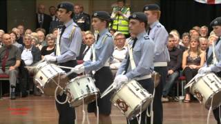 Buxton Military Tattoo 2012 - 2517 (Buxton) Sqn RAF Air Cadets Corps of Drums