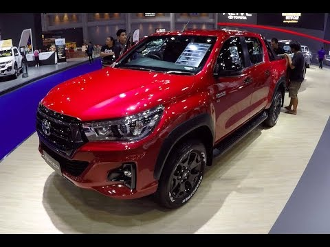 New Toyota Tacoma >> New 2018 Pickup Toyota Hilux Revo ROCCO 2019 - YouTube