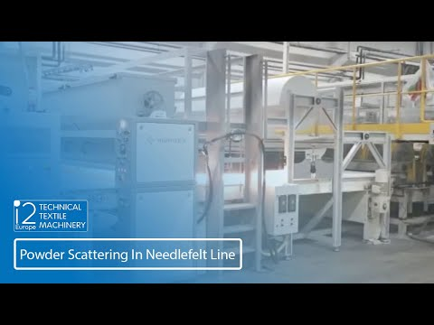 PSD in needlefelt line