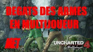 [TUTO] Uncharted 4 - Dégats des Armes en Multijoueur