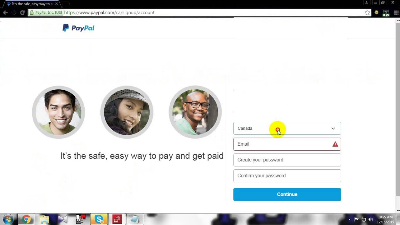 How to open a verfired persoanl paypal account in Ghana with a debit card  and without any Vpn