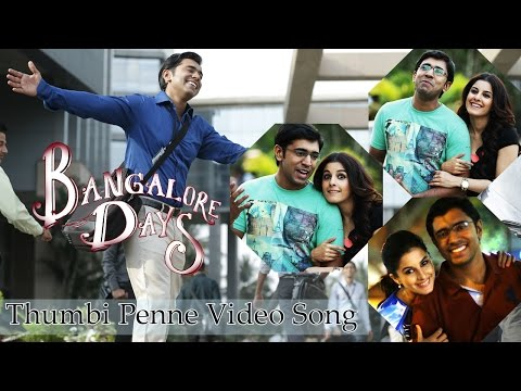 Thumbi Penne- Bangalore Days | Dulquer Salman| Nivin Pauly| Nazriya Nazim | Full song HD Audio