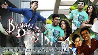 Bangalore Days -Thumbi Penne Official Audio Song HD