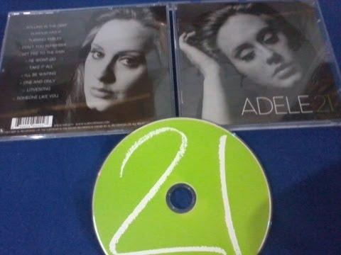 Unboxing: Adele - 21