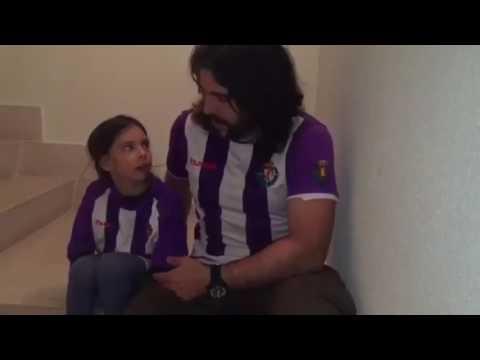 JJ Vaquero demuestra su cariño al Real Valladolid