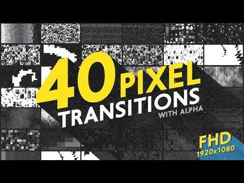 Pixel Transitions Pack   Bogz