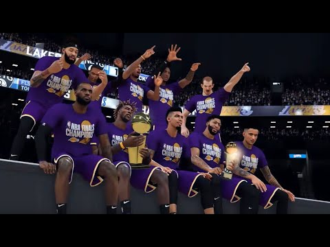 Los Angeles Lakers vs. Brooklyn Nets - Game 4 - Finals ...