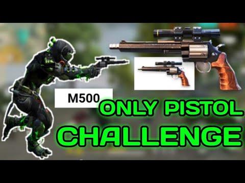 Only Pistol [M500] Challenge || Garena Free Fire.