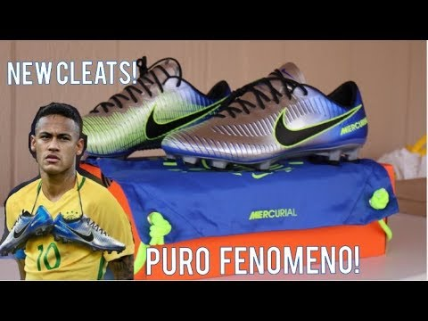 c765c1255d94 Nike Mercurial Vapor 11 Puro Fenomeno Neymar's New Cleats - Unboxing ...