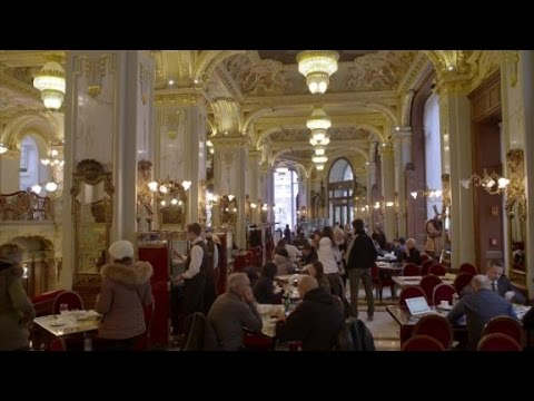 Where artists take their pay in coffee (Anthony Bourdain Parts Unknown: Budapest)