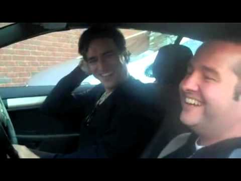 Ben Chaplin speaks Spanish  on set of WAYS TO LIVE FOREVER with director Gustavo Ron