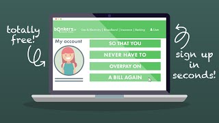 Manage your household finances with the bonkers.ie account