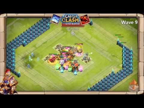 Castle Clash: Best Way To Do Ember Army! Ice Demon?!