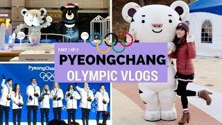 Pyeongchang 2018 Winter Olympics Vlog - Part 1 of 3 | KOREA TRAVEL VLOG