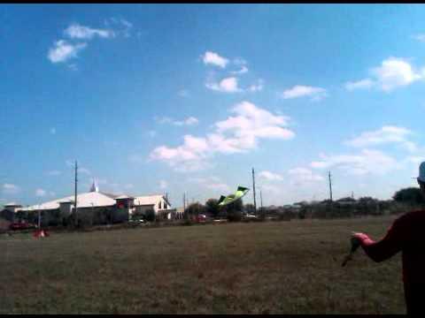 Eric J. Roth flying the Revolution quad-line stunt kite in Orlando