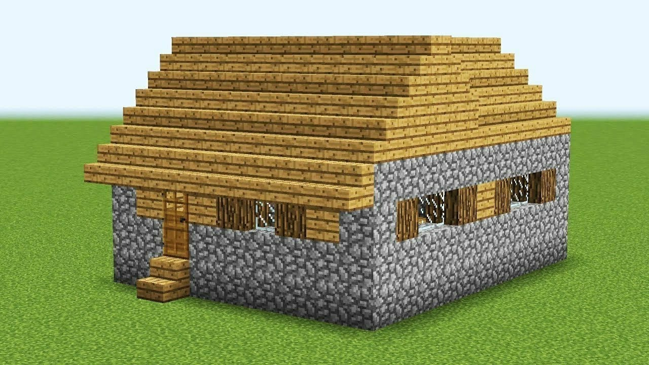 How To Build a BIG VILLAGE HOUSE in Minecraft