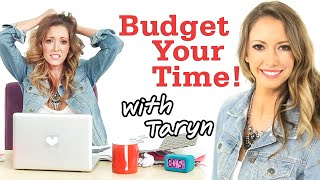 How To Budget Your Time With Taryn + Ootd! #17daily