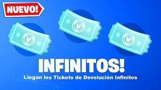 Finally! How to Get INFINITE RETURN TICKETS in Fortnite Season 9...