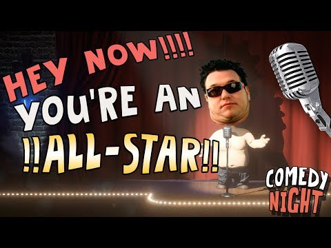 All Star but It's Comedy Night (Singing Reactions)