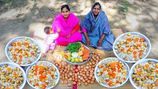 Egg Biryani Cooking Recipe for Kids by Village Food Life