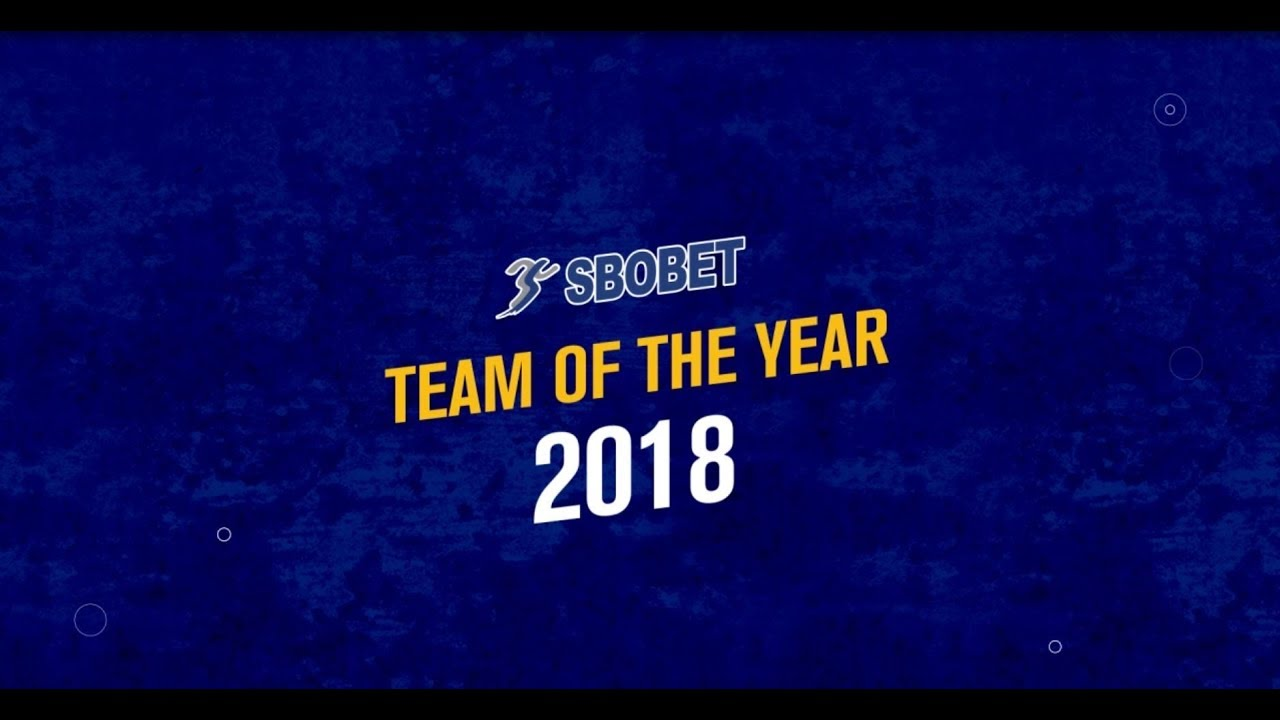 SBOBET Team of the Year - Football