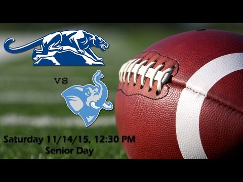 Fall 2015 - Football - Tufts Jumbos Vs Middlebury Panthers