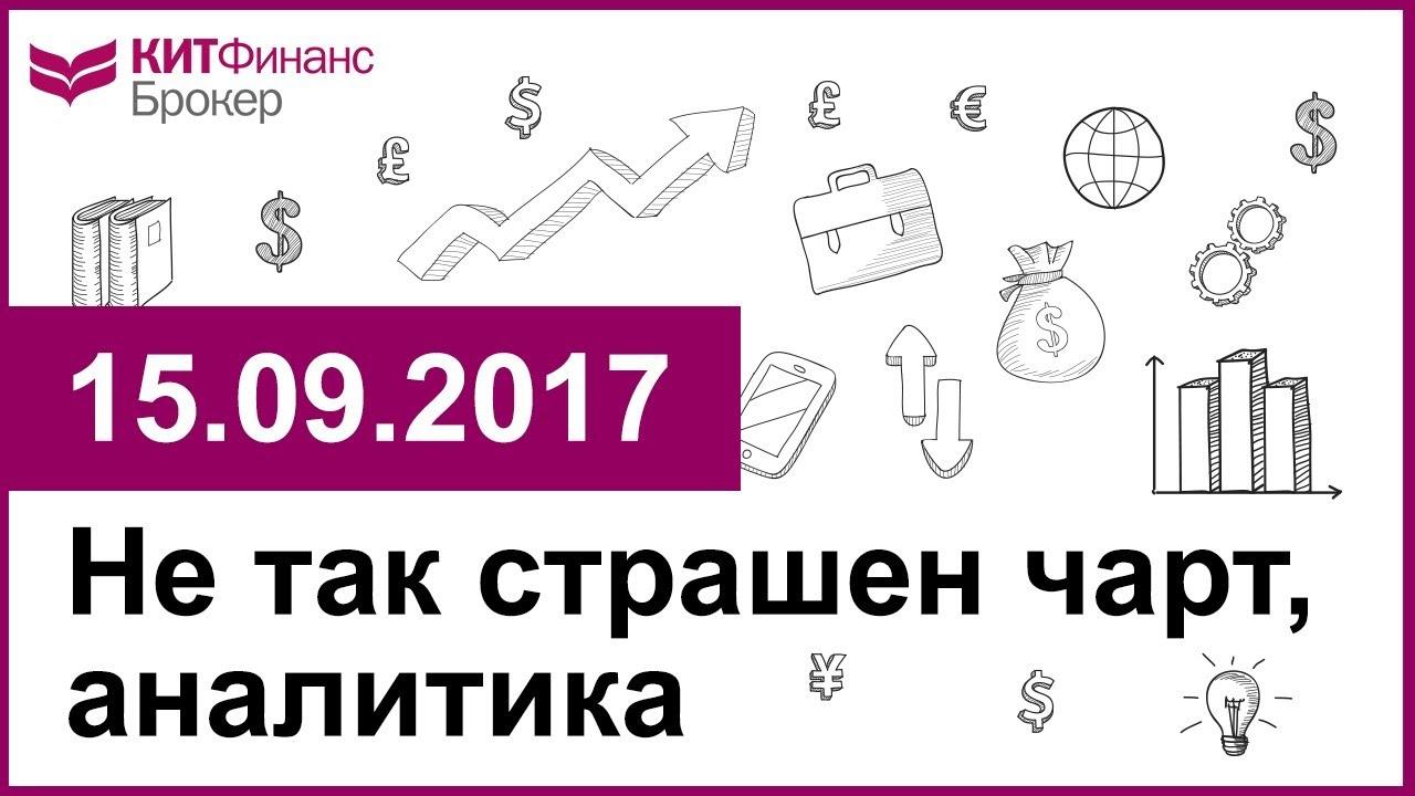 Не так страшен чарт, аналитика - 15.09.2017; 16:00 (мск)