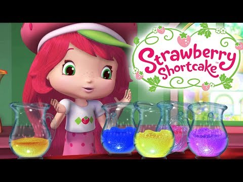 Strawberry Shortcake 🍓 Strawberry's Cleaning Helpers 🍓 Berry Bitty Adventures Girls Show