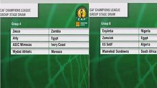 Ligue des Championsde la CAF : les combinaisons des quarts de finale disponibles