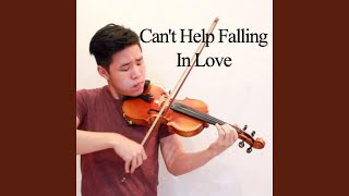Can 39 T Help Falling In Love Violin Instrumental
