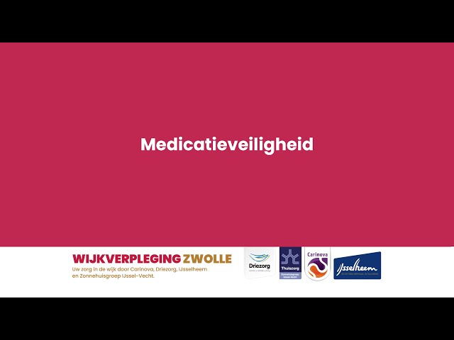 Medicatie veiligheids-app