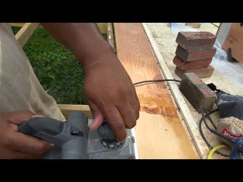 Epoxy scarf joints. Part 5 - wax paper reveal