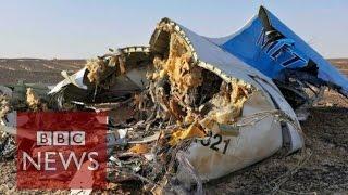 Sinai plane crash: Russian aircraft 'broke up in mid air' - BBC News