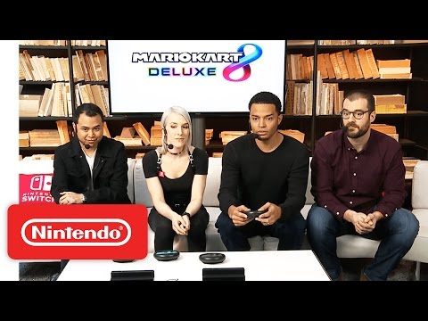 Mario Kart 8 Deluxe – Nintendo Treehouse Live with Nintendo Switch