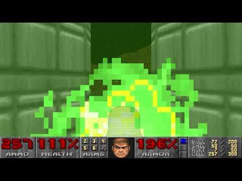 Master Levels for Doom II: The Combine (COMBINE.WAD, 100%) |