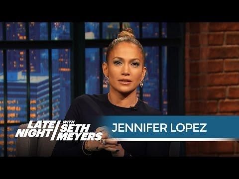 """Jennifer Lopez: """"There Are Worse Movies Than Gigli!"""" - Late Night with Seth Meyers"""
