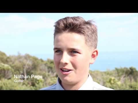 Nathan Page - Golf Victoria Magazine feature