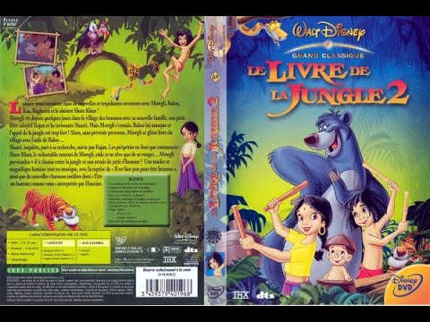 Debut De Disney S Le Livre De La Jungle 2 Film 2003 Dvd Fr