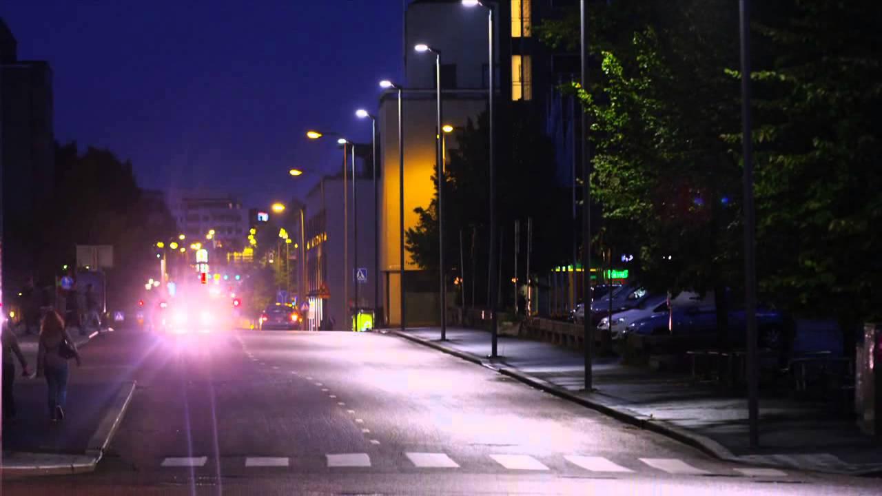 Illuminazione urbana e stradale a led iguzzini youtube