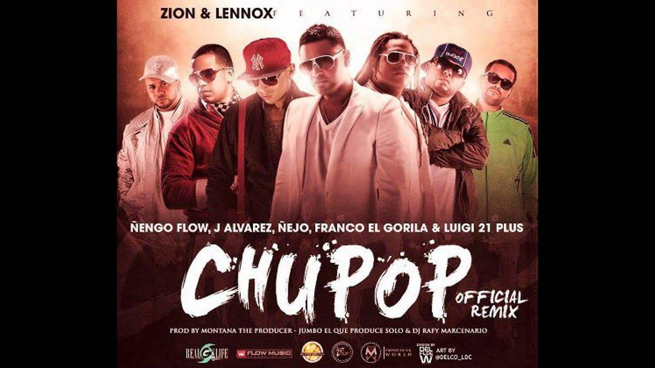 chupop remix zion y lennox