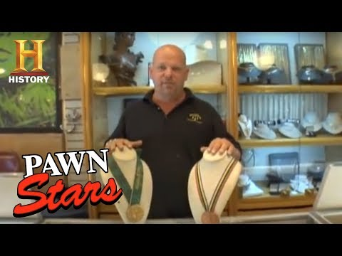 Pawn Stars: Olympic Medals | History