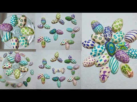 PISTA SHELL ART || DIY ART ON PISTA SHELL