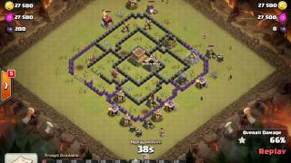 Clash Of Clans Back to back perfect Clan War 10 v 10 Pure Mystique VS Rest In Peace