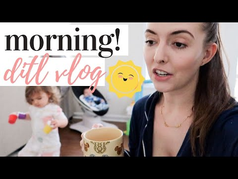 SPEND THE MORNING WITH US! | DAY IN THE LIFE WITH A NEWBORN AND A TODDLER 2020 from YouTube · Duration:  21 minutes 38 seconds