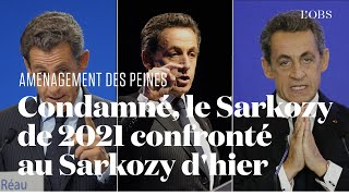 Nicolas Sarkozy rattrapé par ses déclarations sur l'aménagement des peines