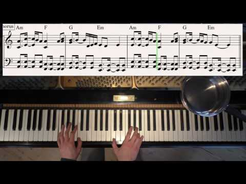 Rockabye Feat. Sean Paul, Anne-Marie - Clean Bandit - Piano Cover Video By YourPianoCover