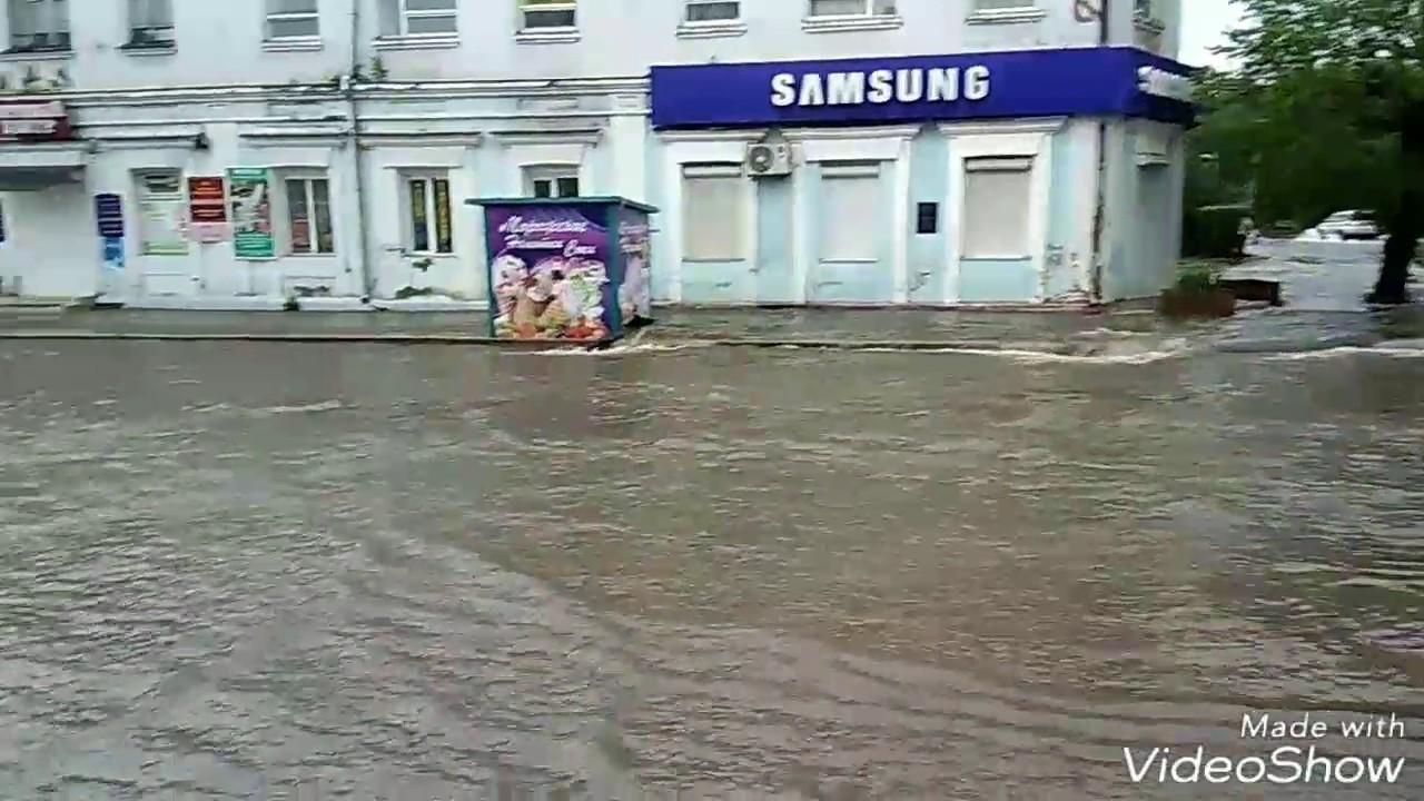 Уссурийск,после дождя,район старого гума