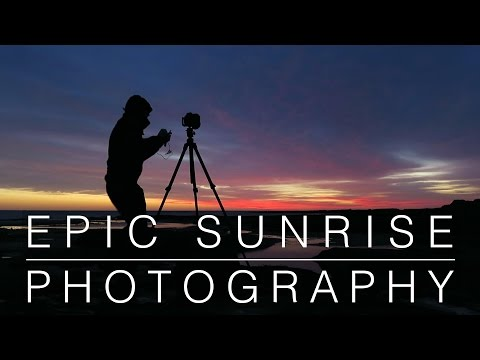 Landscape Photography | Epic Sunrise & Getting Cut Off by the Tide