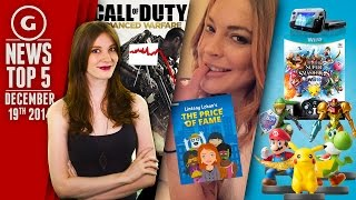 Lindsay Lohan's New Game & Call of Duty Sales Declining? - GS News Top 5