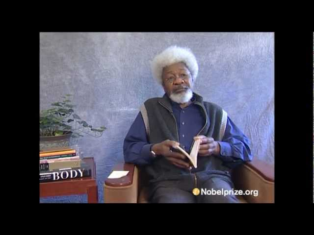 1986 Nobel Laureate in Literature | Wole Soyinka | reads his poem 'Lost Poems'
